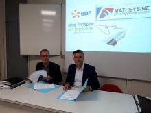 Signature Partenariat EDF
